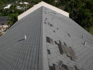Emergency Roof Repair, Wind damage, storm damage, roof damage in Kansas City