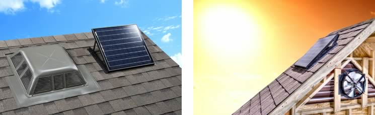 Solar Powered Roof Vents, Solar Roofing Options, Solar Venting In Kansas  City, MO